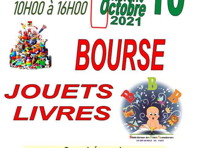 Bourse Jouets & Livres