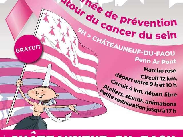 Ma ville en Rose - Journée de prévention autour du Cancer du Sein
