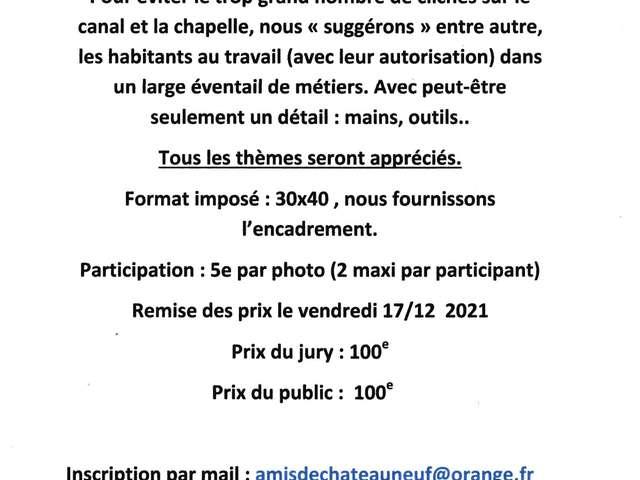 Concours de photos & Exposition