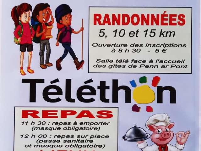 Journée Téléthon - Repas & randonnées