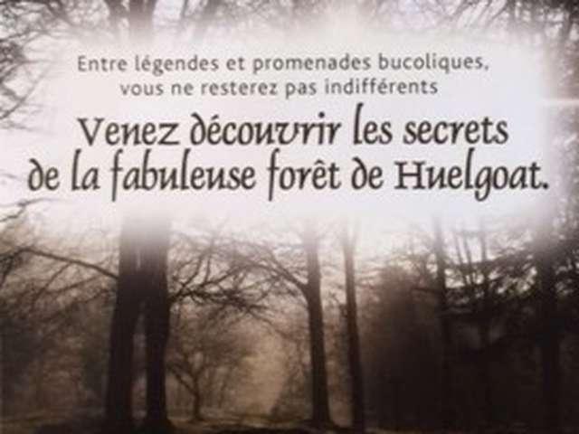Balades en forêt avec les Aventuriers de la légende de Huelgoat