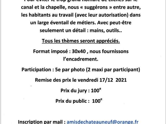 Concours photo - Thème libre Chateauneuf