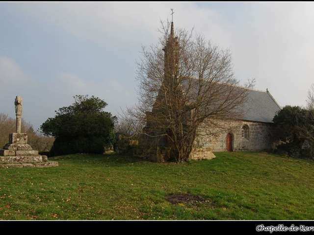 Chapelle et croix Notre-Dame de Kerrivoalan