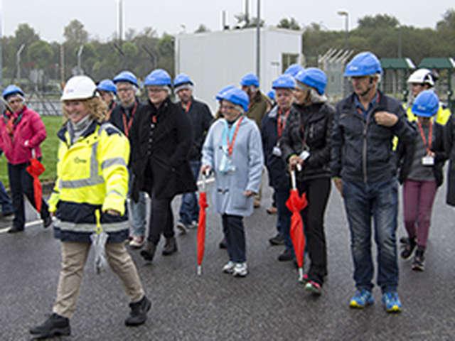 Visite exclusive du réacteur de la centrale de Brennilis