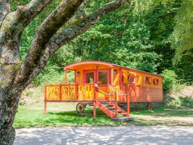 La Roulotte du camping de la Vallée de l'Hyères