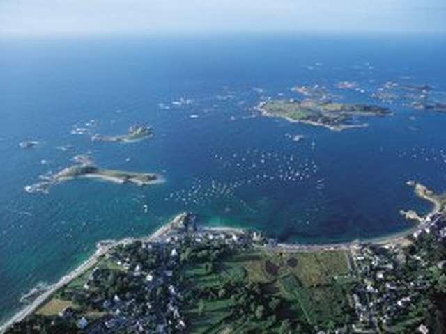 L'Archipel d'îlots de Port-Blanc