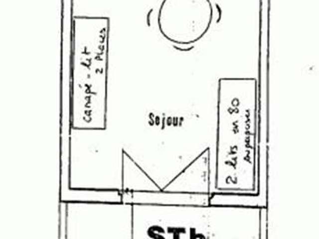 Appartement / 3 personnes / MAISONS DES SABLES III