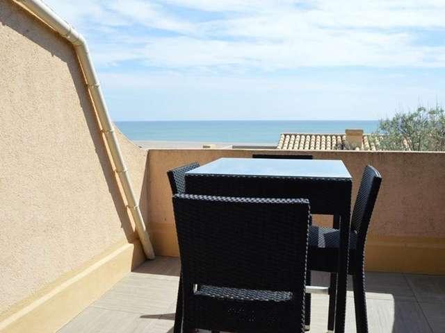 Magnifique appartement avec vue sur mer pour 4 personnes à Port Leucate. Réf: 1MM2_254