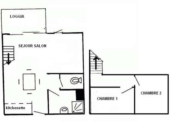 Appartement / 6 personnes / NAUTIQUES DU GOLF