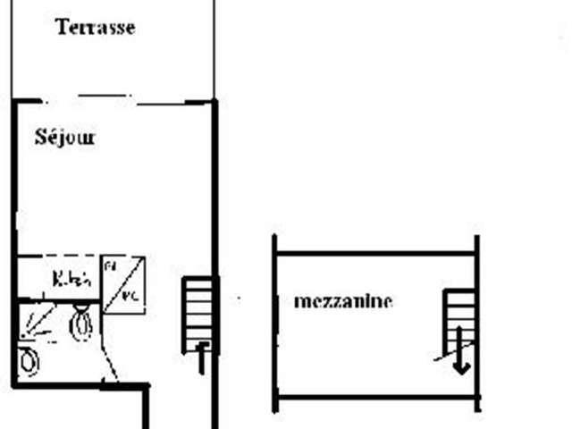 Appartement / 2 personnes / CASTELLET