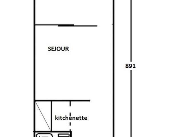Appartement / 4 personnes / NEFS DES SABLES