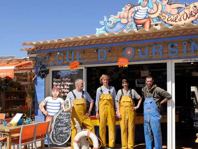 Chez Cul d'Oursin - Producteur d'huîtres - Christophe GUINOT