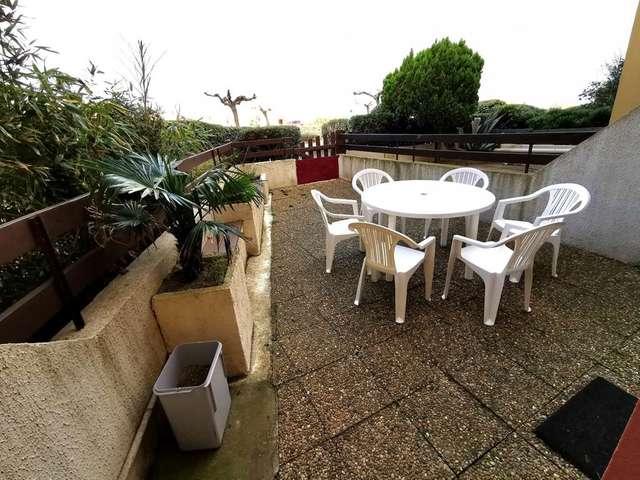 Coquet appartement deux pièces avec terrasse à Port Leucate. Réf: 1COP_101A