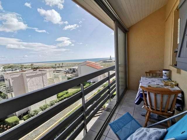 Appartement deux pièces mezzanine 4 couchages à Port Leucate