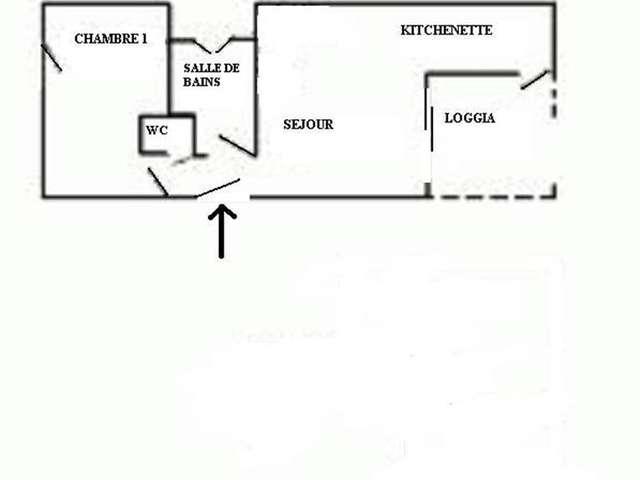 Appartement / 4 personnes / PORTES DE LA PLAGE I