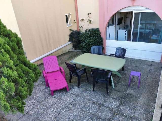 Appartement deux pièces avec accès direct à la plage à Port Leucate. Réf: 1COP_102A