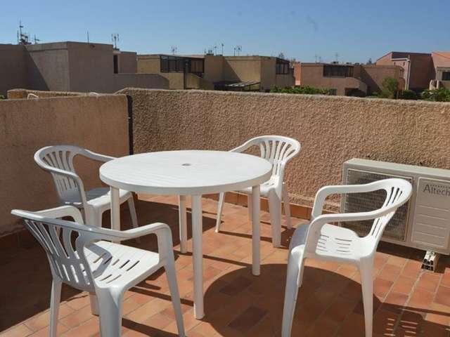 Confortable appartement deux pièces pour 4 personnes avec climatisation à Port Leucate. Réf: 1MAR_85