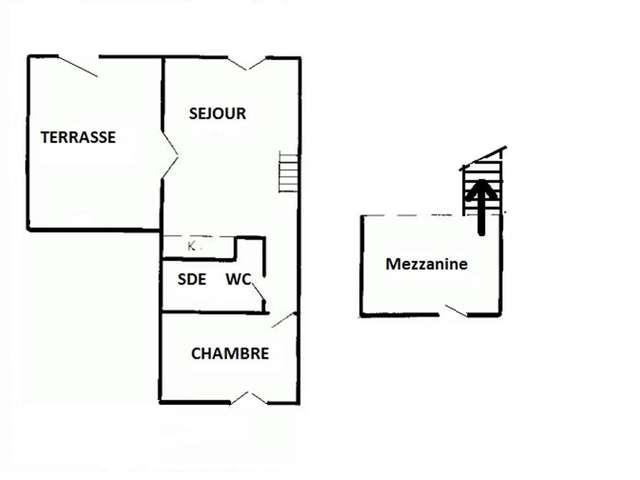 Villa / 6 personnes / LEUCATINES III