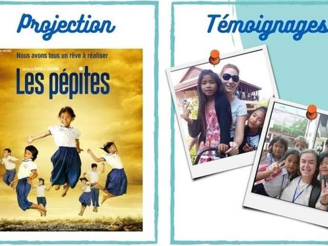 Soirée Cambodge - Diffusion du  Film « Les pépites » et témoignages de volontaires de l'ONG Pour un Sourire d'Enfant