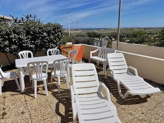 Villa deux pièces mezzanine avec vue sur mer à Port Leucate. Réf: 1CAPT_P3
