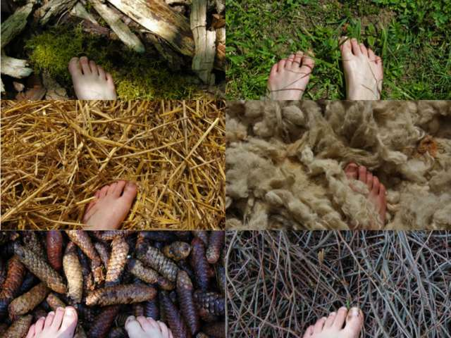 Sentier Nature et Sens - Parcours pieds nus
