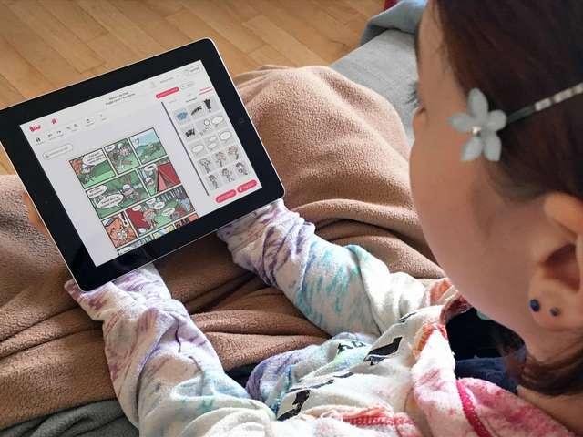 Explorateurs du numérique : créer une bande dessinée