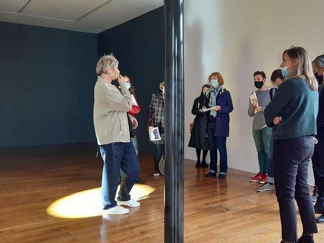 Visite commentée de l'exposition « Chroniques de l'invisible »