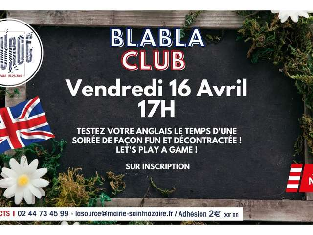 Blablaclub in english !