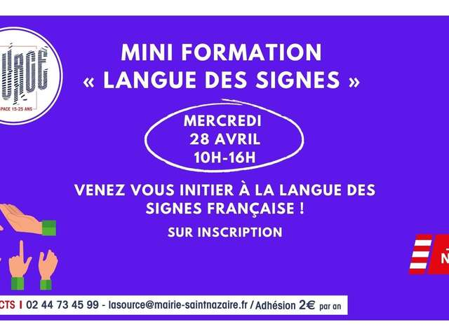 Mini-formation « langue des signes »