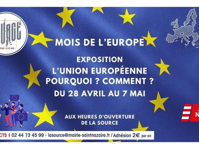 Exposition « L'Union Européenne, pourquoi ? comment ? »