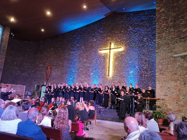 Concert du Chœur vibrato Point d'orgue