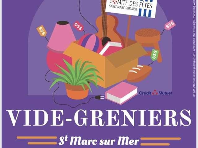 Vide-greniers de Saint-Marc-sur-Mer