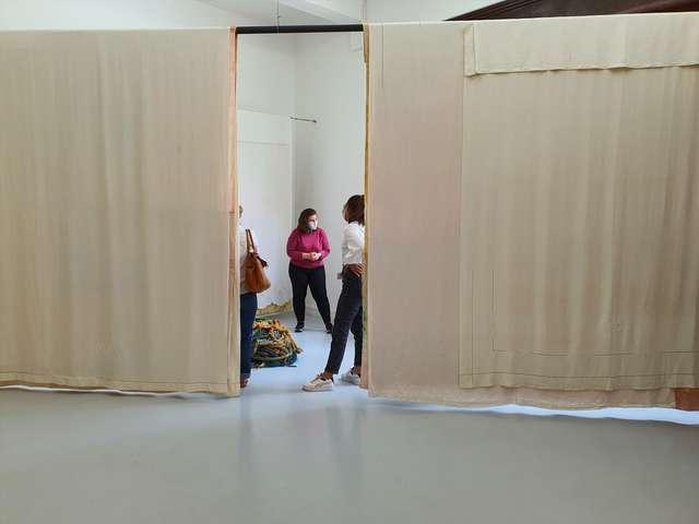 Visite commentée de l'exposition « Soleil blanc »