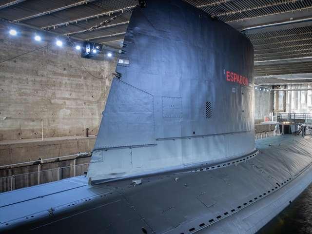 Visite audio-guidée du sous-marin Espadon à l'occasion des Journées européennes du patrimoine