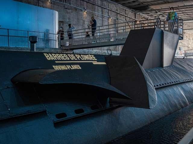 Visite commentée du sous-marin Espadon par son équipage