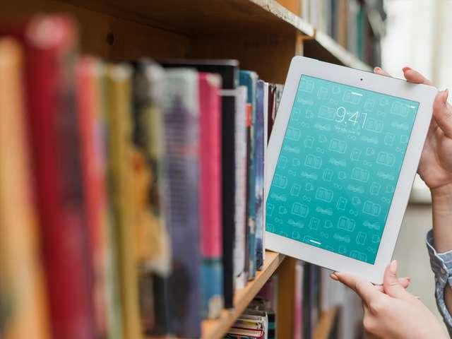 Matinées numériques : emprunter des livres numériques