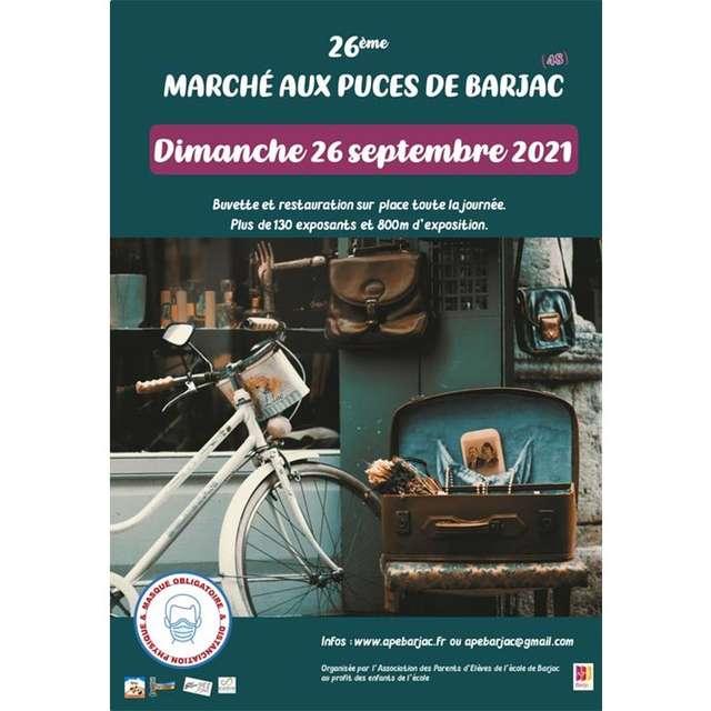 PUCES / VIDE GRENIER DE BARJAC