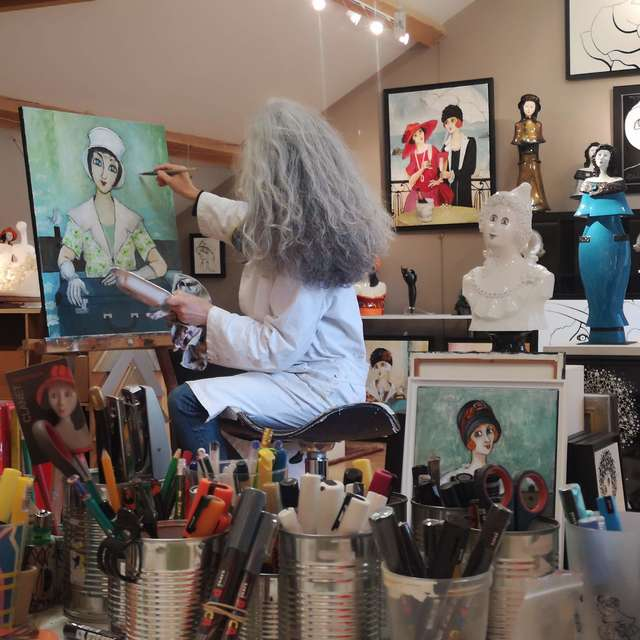 Atelier Galerie Véronique Clanet