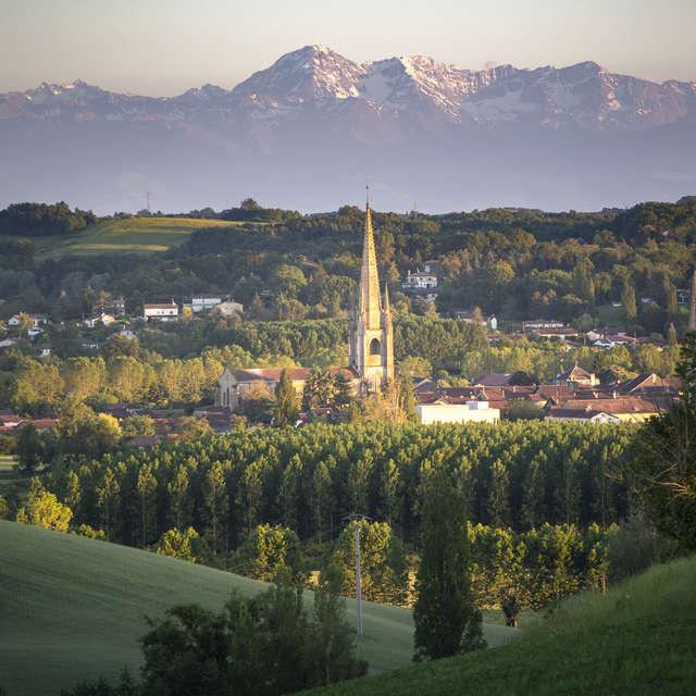 Hillside of Marciac