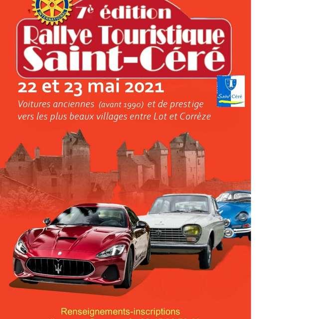 Rallye Touristique de Saint-Céré : 7 ème Edition
