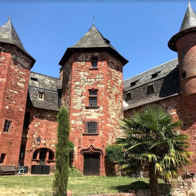Visite aux flambeaux de Collonges-la-Rouge et du Castel de Vassinhac