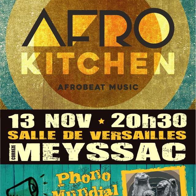 Concert - Afrokitchen et Phono Mundial