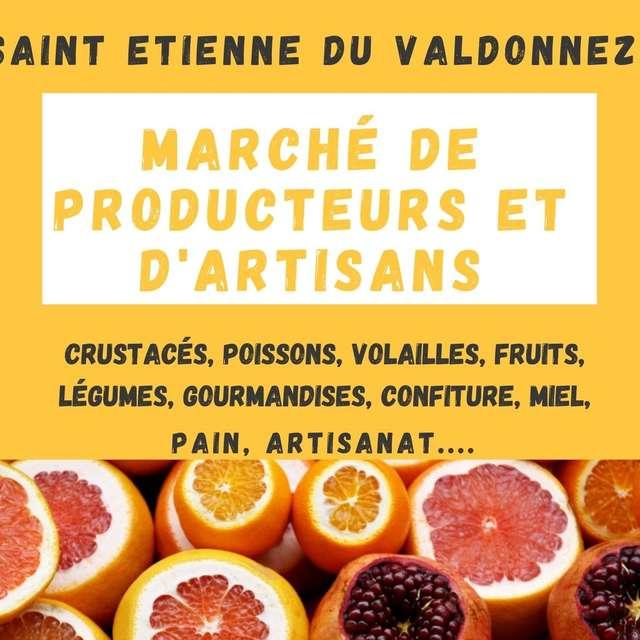 MARCHÉ DE PRODUCTEURS ET D'ARTISANS