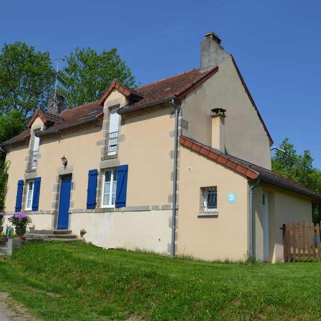 Location Gîtes de France - GENOUILLAC - 6 personnes - Réf : 23G1016