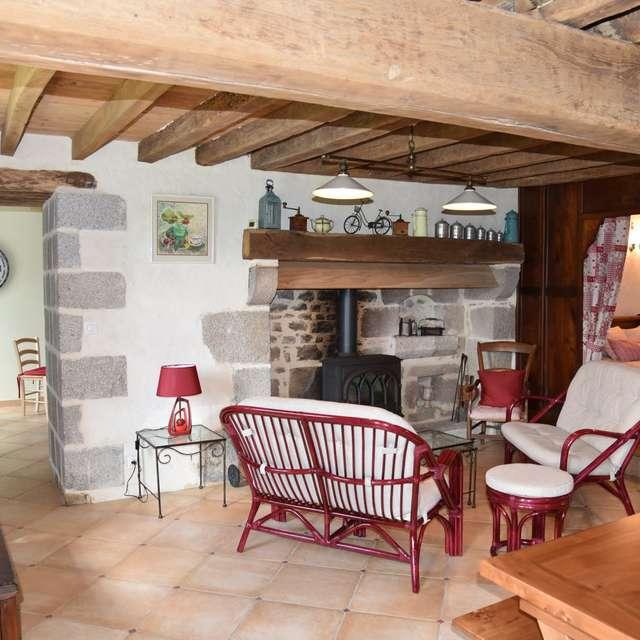 Location Gîtes de France - PEYRABOUT - 5 personnes - Réf : 23G1350