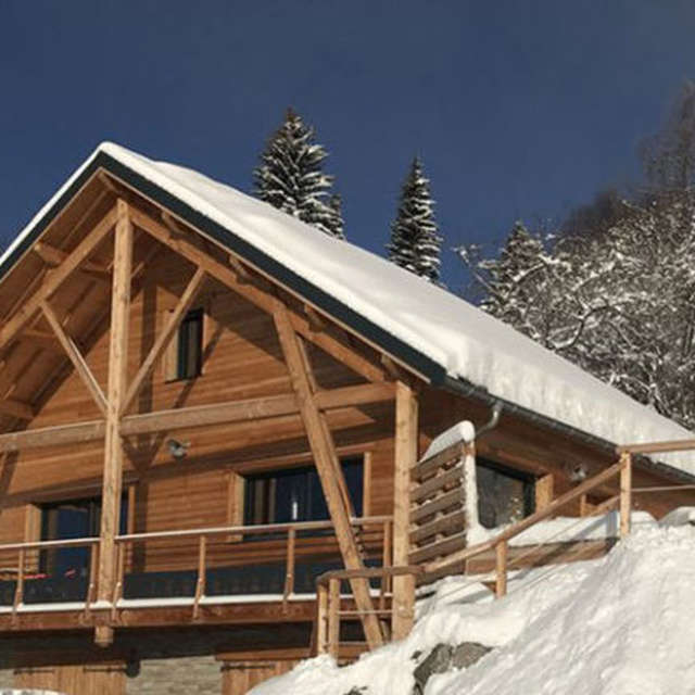 Week-end ski en chalet à Chaillol