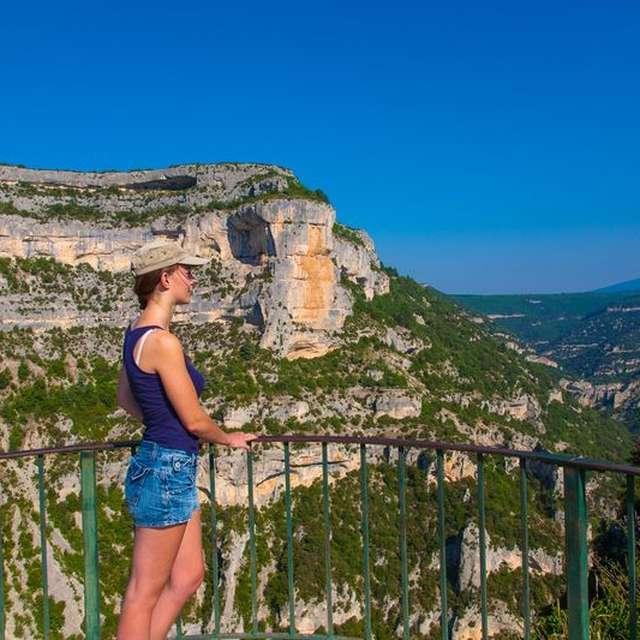 Route touristique des Gorges de la Nesque