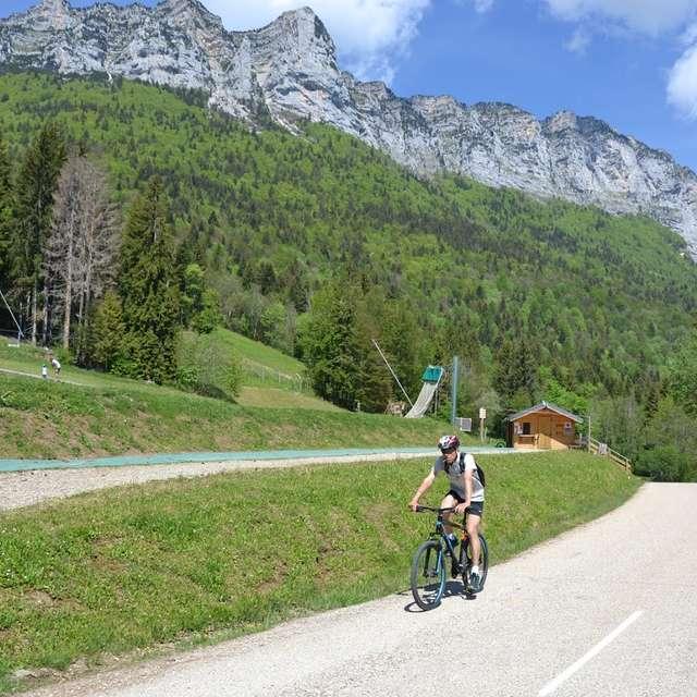 Itinéraire cyclotourisme: Col de Marcieu