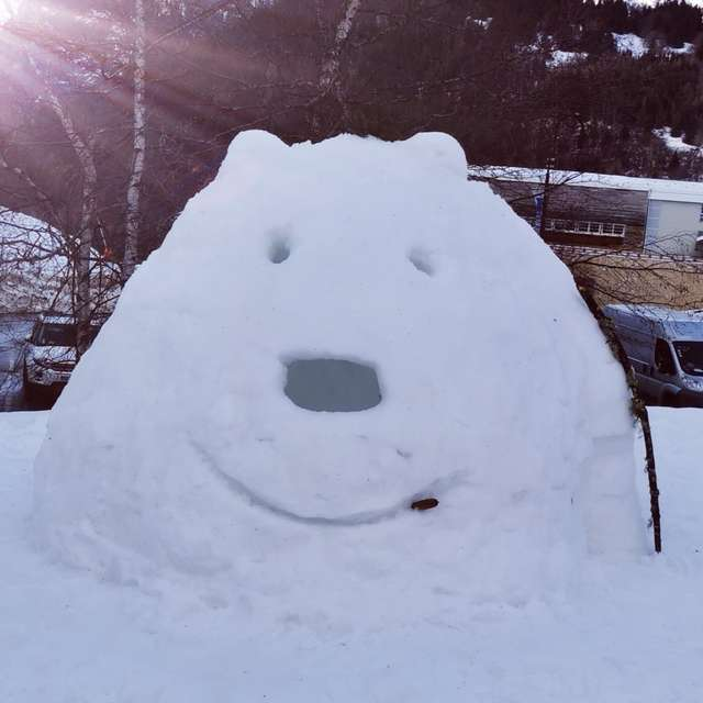 Atelier construction d'igloos