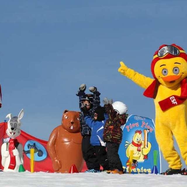 Jardin des Neiges - Ecole du Ski Français